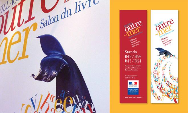 Village-Outre-Mer affiche - Salon du livre de Paris