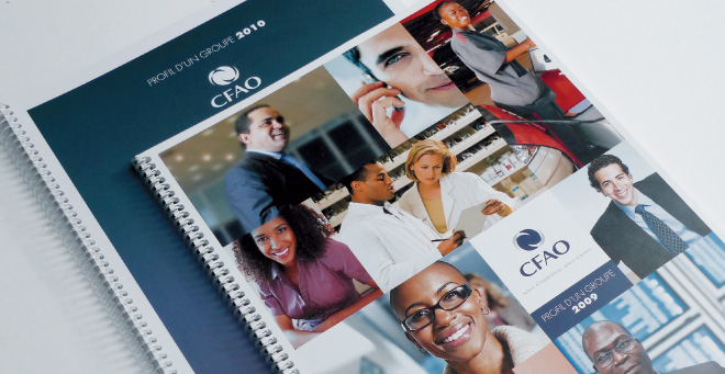 Profil Groupe CFAO 2009 - 2010 - rapport d'activité