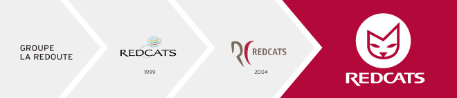 Création logo Redcats - historique