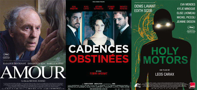Affiche film Amour - Cadences Obstinées - Holy Motors