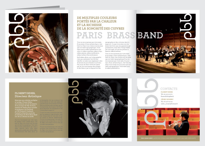 Paris Brassband brochure