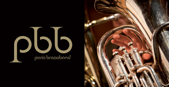 Paris Brassband logotype