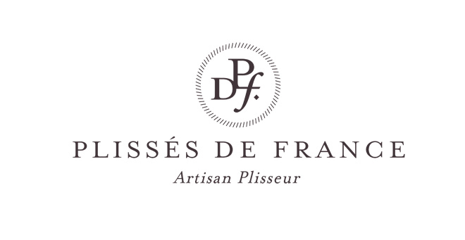 Plissés de France logotype