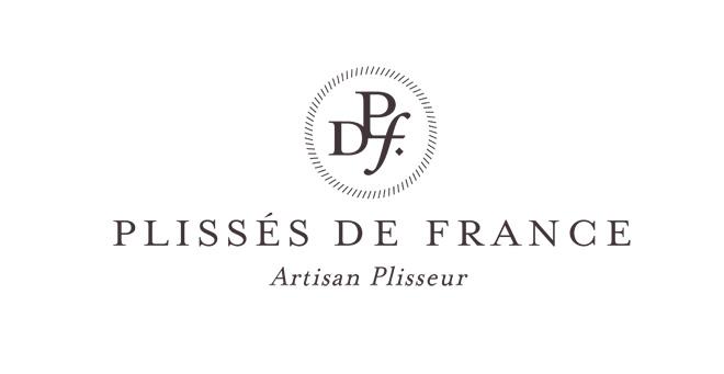 Plissés de France logotype