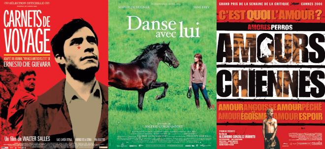 Affiche film Carnets de Voyage - Danse avec Lui - Amours Chiennes