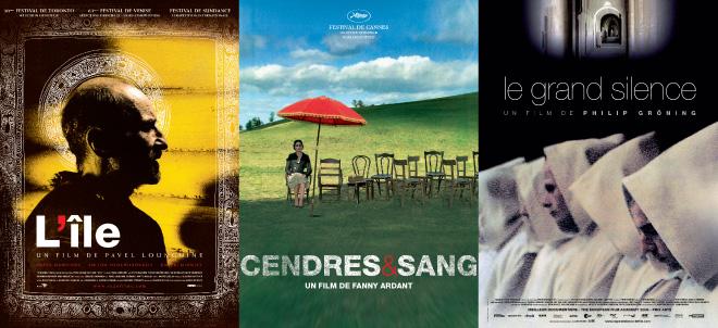 Affiche film L'Ile - Cendres & Sang - Le grand Silence