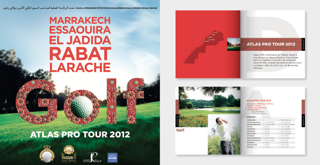 Affiche - catalogue Atlas Pro Tour 2012