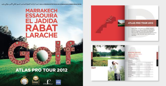 Affiche - catalogue Atlas Pro Tour 2012