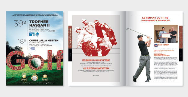Catalogue Trophée Hassan II Golf 2012