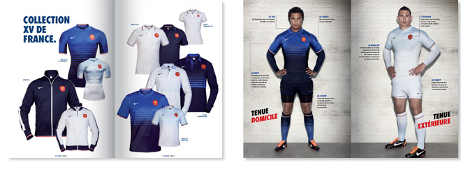 Nike Catalogue XV de France