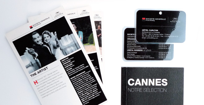 Documents Societe Generale Private Banking pour Festival de Cannes