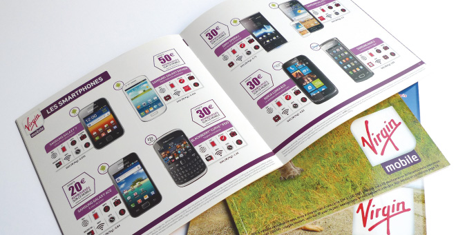 Catalogue Virgin Mobile