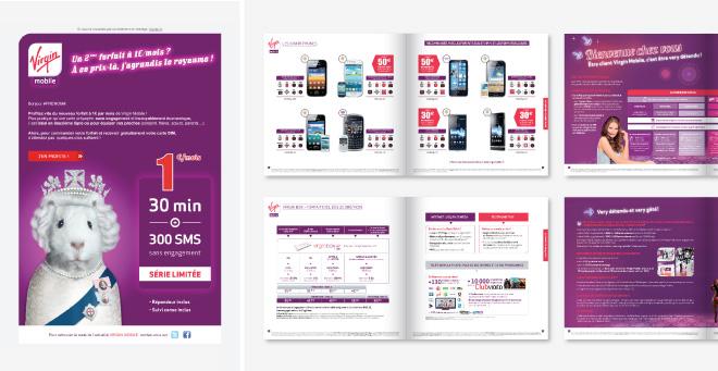 Catalogue Virgin Mobile
