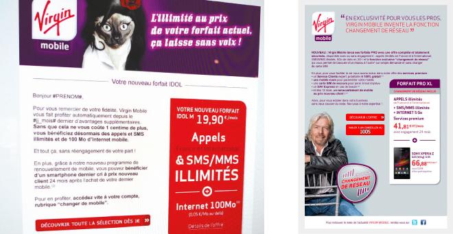 Emailing Virgin Mobile