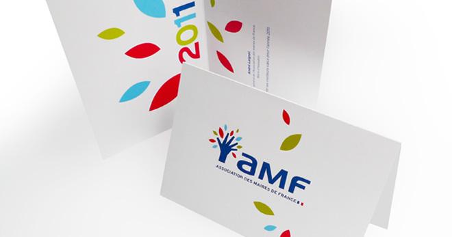 Création logo AMF - Association des Maires de France