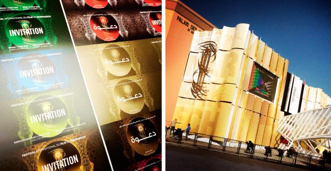 Création affiche Festival du film international de Marrakech 2014