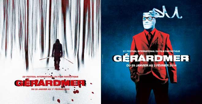Affiche Festival Gerardmer 2015 - 2014