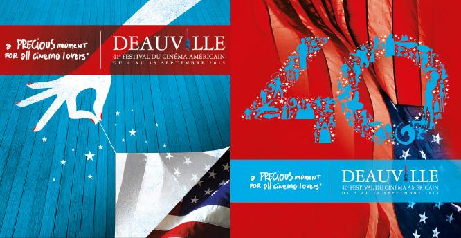Affiche du Festival du Cinéma Americain de Deauville 2014 - 2015