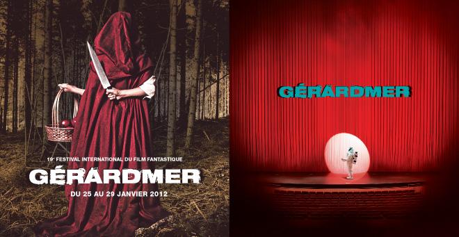 Création affiche 2010 - 2012 du Festival du Film Fantastique de Gerardmer