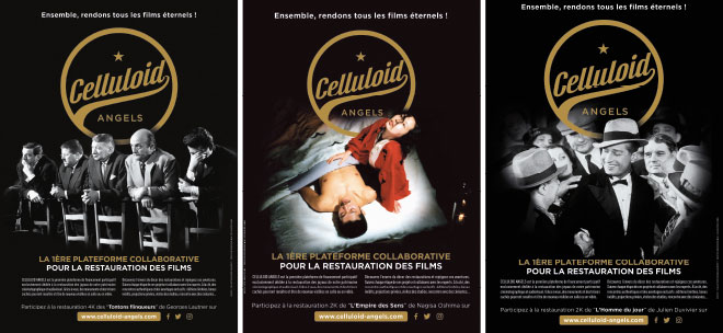 Affiches Celluloid Angels