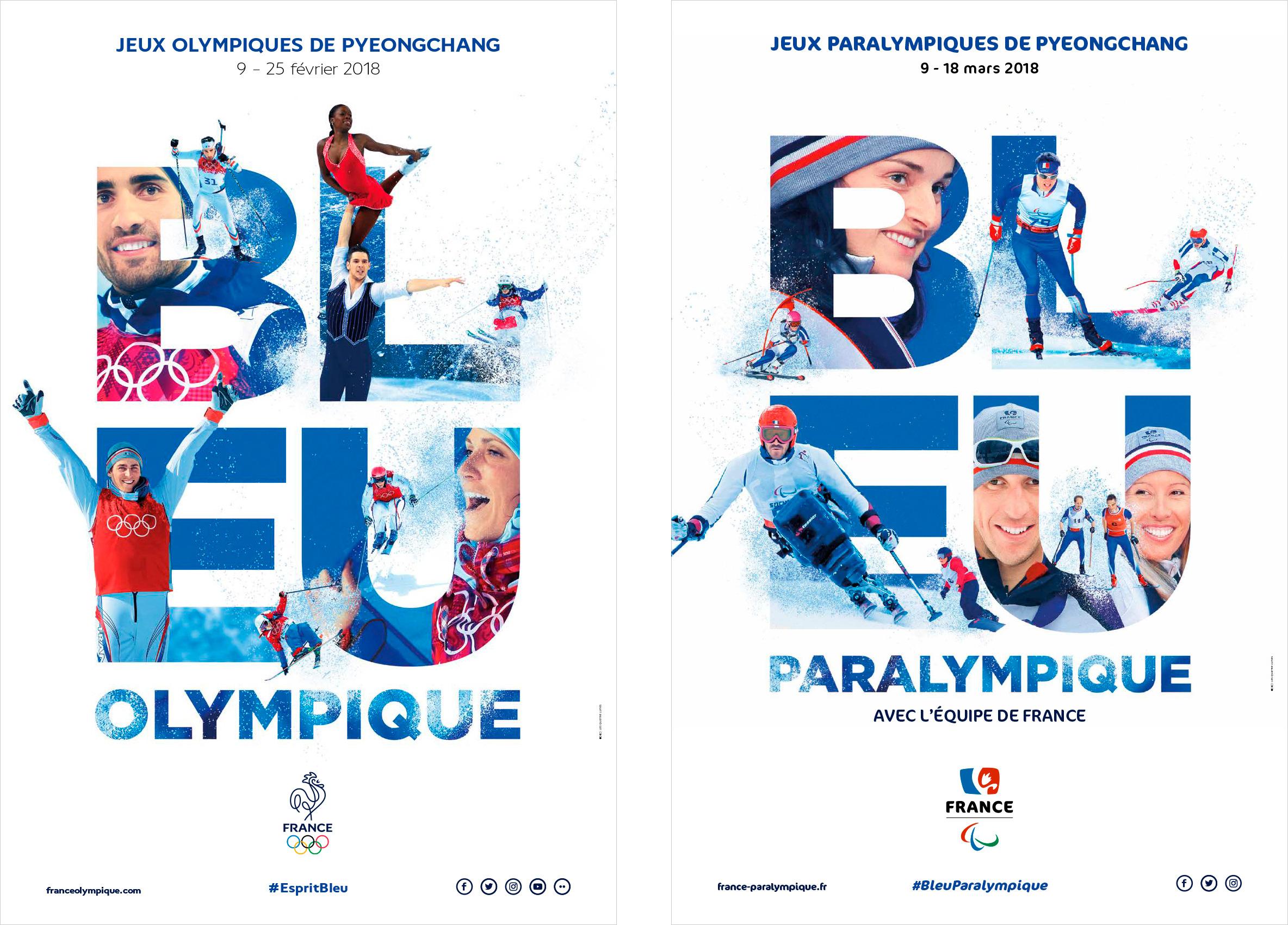 Création de la communication globale du CNOSF et du CPSF pour les Jeux Olympiques d'hiver 2018 à Pyeongchang