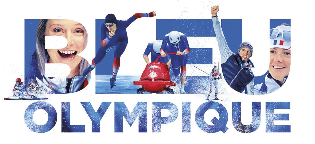 Création de la communication globale du CNOSF pour les Jeux Olympiques d'hiver 2018 à Pyeongchang