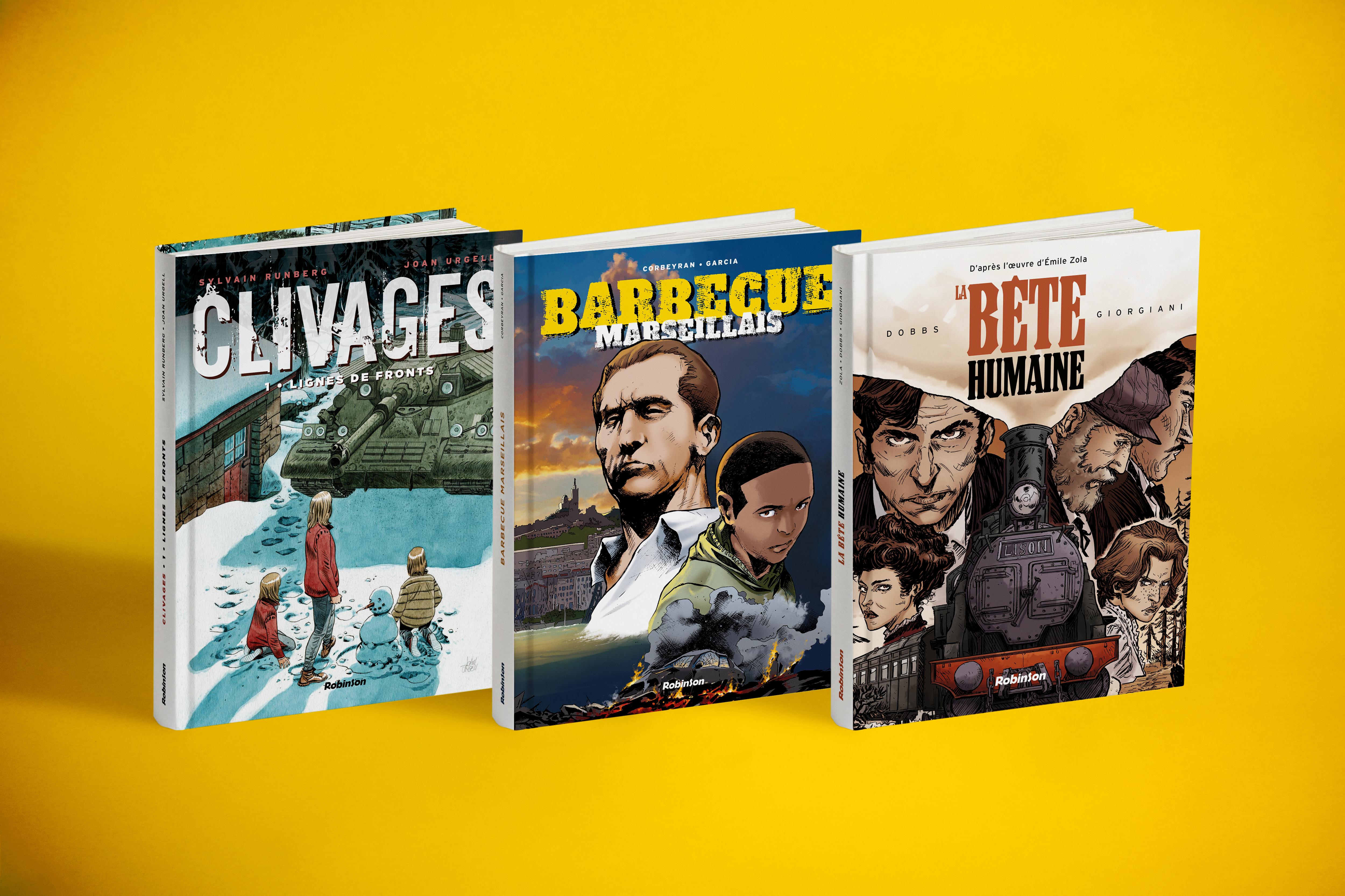 Couvertures de BD - Hachette Comics - Robinson